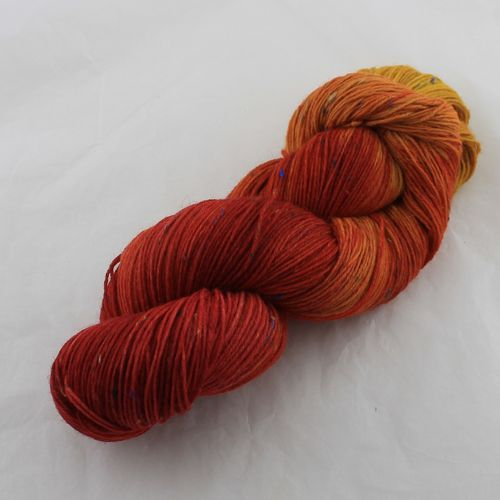 "Sockentweed ""Teenachmittag"" gelb/orange LL 420m/100g"