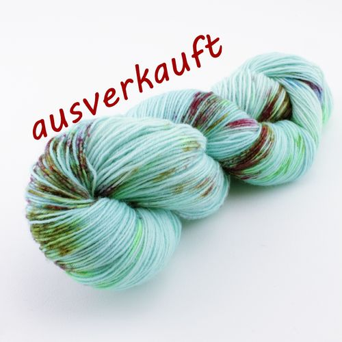 """Frühlingshauch"" 100g Sockenwolle LL 420m/100g"