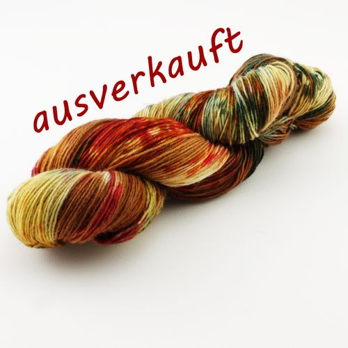 """Lagerfeuerabend"" 100g Sockenwolle LL 420m/100g"
